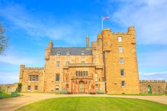 Castle of Mey Thurso Stock Images