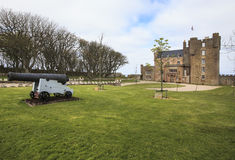 The castle of Mey in Caithness Stock Photos