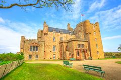 Castle of Mey. Of the Highland in Scotland, United Kingdom royalty free stock photography
