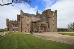 Castle Of Mey in early spring Royalty Free Stock Image