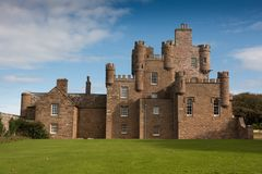 Castle Mey Scotland stock photography