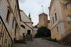 Castle Mikulov, Δημοκρατία της Τσεχίας στοκ εικόνα με δικαίωμα ελεύθερης χρήσης
