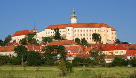 Castle of Mikulov Stock Photos