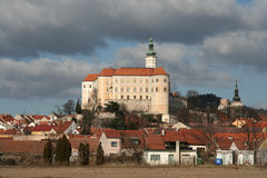 Castle in Mikulov Stock Photo