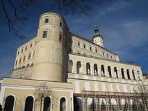 Castle Mikulov, Czech Republic, Europa Stock Image