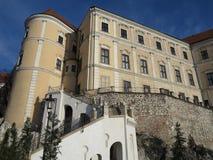 Castle Mikulov, Czech Republic, Europa Stock Images