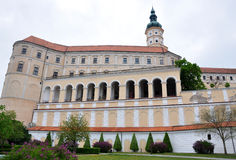 Castle Mikulov, Czech Republic, Europe Royalty Free Stock Photos