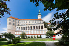 Castle in Mikulov, Czech Republic. Royalty Free Stock Photo