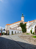 Castle in Mikulov, Czech Republic. Stock Photography