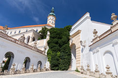 Castle of Mikulov Royalty Free Stock Photography