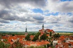 Castle of Mikulov in southern Moravia, Czech Royalty Free Stock Photo