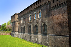 Castle in Milan Stock Image