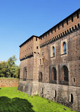 Castle in Milan Stock Images