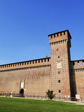 Castle in Milan Royalty Free Stock Images
