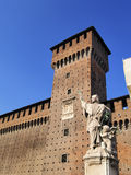 Castle in Milan Royalty Free Stock Photography