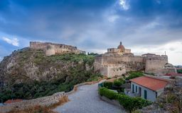Castle of Milazzo Royalty Free Stock Image