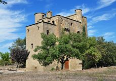 Castle mill of the Ratera-catalonia Royalty Free Stock Photo