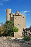 Castle mill of the Ratera-catalonia Stock Photo