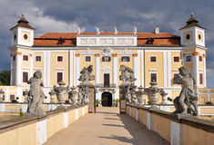 Castle Milotice, Czech republic Stock Photos