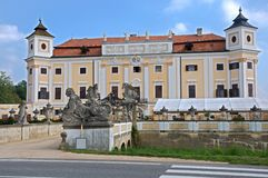 Castle Milotice, Czech republic Royalty Free Stock Photos