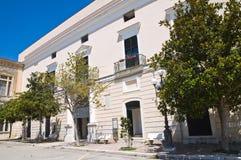 Castle of Minervino Murge. Puglia. Italy. Stock Image