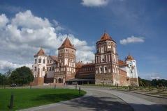 Castle in Mir. Belarus, Minsk region, Gothic Royalty Free Stock Image