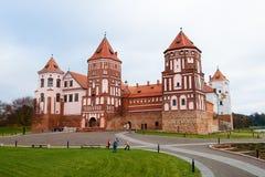 Castle_Mir_Belares Royalty-vrije Stock Afbeelding
