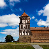 Castle of Mir. In Belarus Royalty Free Stock Photography