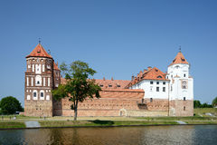 Castle Mir, Belarus Royalty Free Stock Images