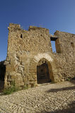Castle of Mirambel in Maestrago, Royalty Free Stock Photos