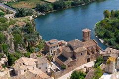 The Castle Miravet in Catalonia, Spain royalty free stock photos