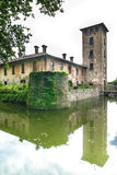 Castle of Mirazzano (Milan) Royalty Free Stock Image