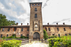 Castle of Mirazzano (Milan) Royalty Free Stock Photo
