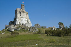 Castle in Mirow, Poland Royalty Free Stock Images