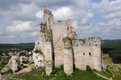Castle mirow, Poland Stock Images