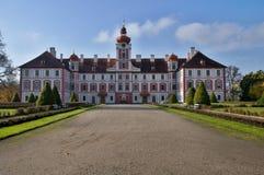 Castle Mnichovo Hradiste Stock Photos