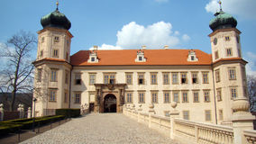 Castle Mnisek pod Brdy Stock Image