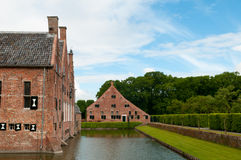 Castle moat Royalty Free Stock Image