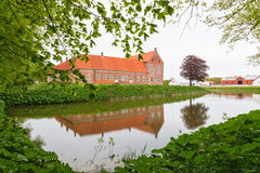 Castle Moat Royalty Free Stock Images