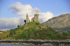 Castle Moil, Kyleakin Stock Images