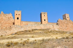 Castle of Molina de Aragon. Guadalajara Stock Image