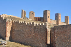 Castle of Molina de Aragon. Guadalajara Stock Photos
