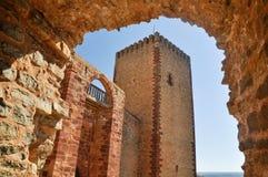 Castle of Molina de Aragon. Guadalajara Royalty Free Stock Photo
