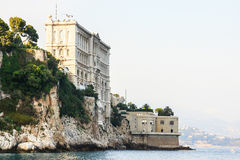 Castle in Monaco Royalty Free Stock Photography