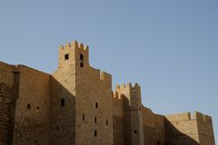 Castle in Monastir Tunisia Stock Images