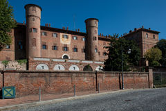 The castle of Moncalieri Stock Photography