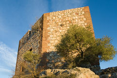 Castle of Monfrague, Caceres Royalty Free Stock Image