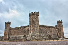 Castle of Montalcino Royalty Free Stock Image