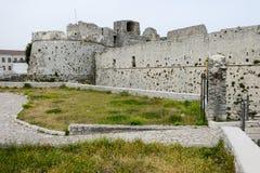 Castle Monte Sant'Angelo στην Πούλια Στοκ Εικόνες