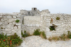 Castle Monte Sant'Angelo στην Πούλια Στοκ εικόνα με δικαίωμα ελεύθερης χρήσης
